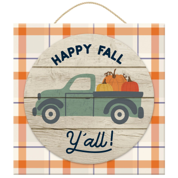Picture of DECOR  - FALL TRUCK SIGN