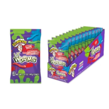 Picture of 1 PACK WARHEADS LIL WORMS SACHET
