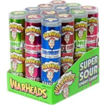 Picture of 1 PACK WARHEADS SPRAY UPRIGHT CANDY