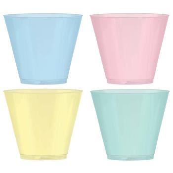 Image de TABLEWARE - PRETTY PASTELS 9oz CUPS