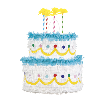 Picture of BIRTHDAY CAKE 3D PINATA