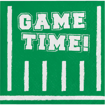 Picture of FOOTBALL - GAME TIME BEVERAGE NAPKINS
