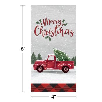 Image de TABLEWARE - FARMHOUSE CHRISTMAS GUEST TOWELS