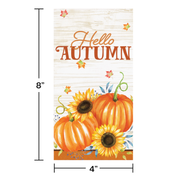 Picture of TABLEWARE - HARVEST TRUCK GUEST TOWELS