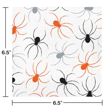 Image de TABLEWARE - SPIDERS LUNCHEON NAPKINS
