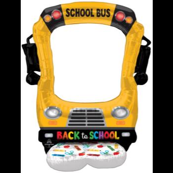 Image de AIRLOONZ - SCHOOL BUS SELFIE - AIR FILLED