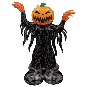 Picture of AIRLOONZ - PUMPKIN HEAD GHOST - AIR FILLED