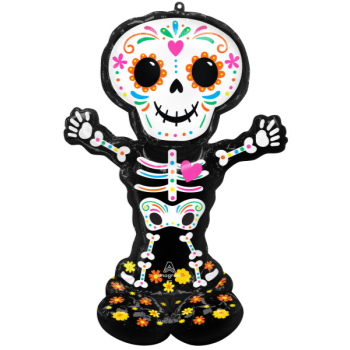 Picture of AIRLOONZ - DAY OF THE DEAD - AIR FILLED