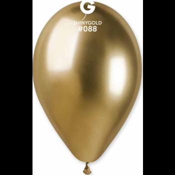 "Image de 11"" SHINY GOLD LATEX BALLOONS - GEMAR"