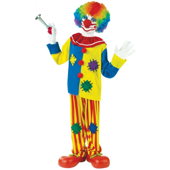 Picture of BIG TOP CLOWN COSTUME -  KIDS SMALL