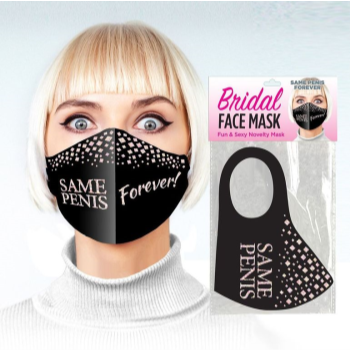 Image de BRIDE TO BE - FACE MASK NAUGHTY