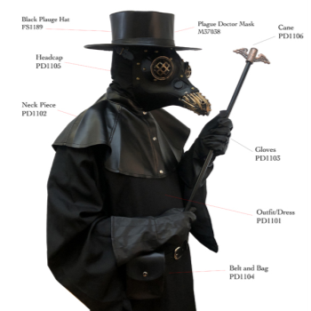 Picture of PLAGUE DOCTOR COSTUME - ADULT STANDARD