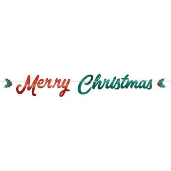 Image de DECOR - MERRY CHRISTMAS LETTER BANNER